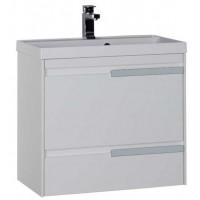 Тумба с раковиной для ванной комнаты Aquanet Тиволи 70 см белый 00180054