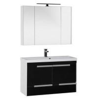 Комплект мебели для ванной комнаты Aquanet Тиволи 100 см черный 00180567