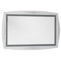 Зеркало с встроенным светильником для ванной комнаты Aquanet Виктория 120 белый/золото 00183924