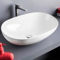 Раковина накладная 70см для ванной комнаты Artceram LA CIOTOLA LCL002 01; 00
