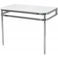 Стол под раковину хромированный с белой столешницей Artceram AZULEY AZA003 71; 01