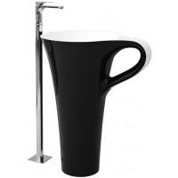 Раковина напольная для ванной комнаты 70 x 50 Artceram CUP OSL004 01; 50
