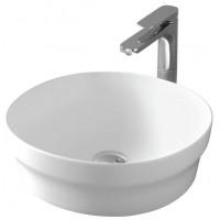 Раковина круглая накладная для ванной комнаты белая глянцевая Artceram POP POL001 01; 00