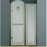 Дверь в нишу 120 см Cezares RETRO B-11-120-CP-Br-L