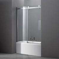 Шторка на ванну Cezares STYLUS-V-1-170/145-C-Cr