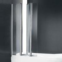 Шторка для ванны Cezares TRIO-V-3-120/140-C-Cr-L(R)