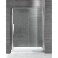 Душевая дверь Cezares LUX-SOFT-BF-1-130-C-Cr