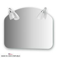 Зеркало со светильниками 70х55 см ELLUX CLASSIC CLA-A2 0009