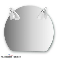 Зеркало со светильниками 70х60 см ELLUX CLASSIC CLA-A2 0025