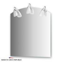 Зеркало со светильниками 70х80 см ELLUX CLASSIC CLA-A3 0403