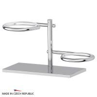 Держатель стакана/дозатора жидкого мыла и мыльницы настольный ELLUX Domino DOM 004