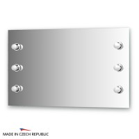 Зеркало со светильниками 100х60 см ELLUX RONDO RON-A6 9002