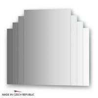 Зеркало FBS Decora CZ 0801 70х60 с зеркальными декоративными элементами