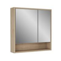 Зеркальный шкаф Alvaro Banos Toledo 75, дуб сонома