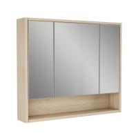 Зеркальный шкаф Alvaro Banos Toledo 90, дуб сонома