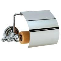 Держатель туалетной бумаги с крышкой Boheme Brillante 10430