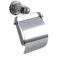 Держатель туалетной бумаги с крышкой Boheme Murano 10901-CR