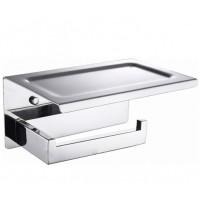 Держатель туалетной бумаги с крышкой Boheme New Venturo 10311-CR