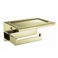 Держатель туалетной бумаги с крышкой Boheme New Venturo 10311-G