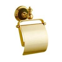 Держатель туалетной бумаги с крышкой Boheme Palazzo Nero 10151