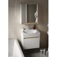 Комплект мебели для ванной комнаты 60 (тумба с раковиной+зеркало) KERAMA MARAZZI Buongiorno BG-60-2-mi-2-wb-WHT