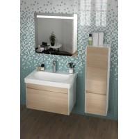 Комплект мебели для ванной комнаты 60 (тумба с раковиной+зеркало) KERAMA MARAZZI Buongiorno BG-60-1-mi-2-wb-OAK