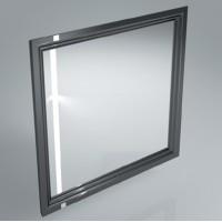 Комплект мебели для ванной комнаты (раковина+зеркало) KERAMA MARAZZI Pompei Po-80-mi-wb-BLK