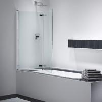 Шторка для ванны 1200х1425мм Provex Combi free 2003 CK 05 GL L