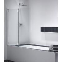 Шторка для ванны 1200х1400мм  Provex Combi CK-1 1003 CK 05 GL L