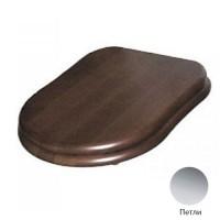 Крышка-сиденье с микролифтом GSI Old Antea MS56NС орех/хром
