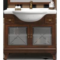 Тумба напольная с раковиной Opadiris Борджи 105 для ванной комнаты светлый орех