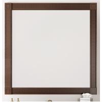 Зеркало Opadiris Фреско 80 для ванной комнаты светлый орех с темной патиной