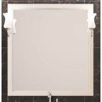 Зеркало с подсветкой Opadiris Глория 75 для ванной комнаты слоновая кость
