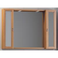 Зеркало с шкафами Opadiris Гредос 105 подвесное для ванной комнаты, комплект