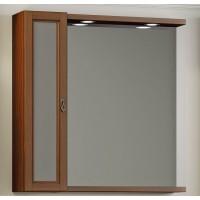 Зеркало с шкафчиком Opadiris Гредос 75 подвесное для ванной комнаты, комплект
