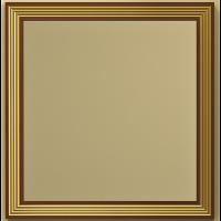 Зеркало с встроенной подсветкой Opadiris Карат 100 для ванной комнаты белый с золотом