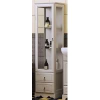 Шкаф-пенал Opadiris Клио напольный для ванной комнаты белый