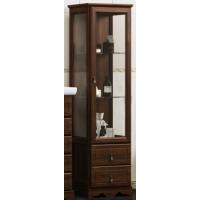 Шкаф-пенал Opadiris Клио напольный для ванной комнаты орех антикварный