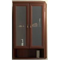 Шкаф подвесной двустворчатый Opadiris Клио для ванной комнаты