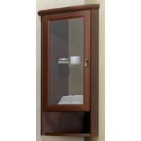Шкаф подвесной угловой Opadiris Клио для ванной комнаты