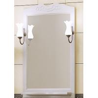 Зеркало с подсветкой Opadiris Клио 65 для ванной комнаты белый