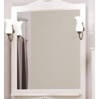 Зеркало с подсветкой Opadiris Клио 70 для ванной комнаты белый