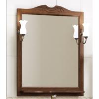 Зеркало с подсветкой Opadiris Клио 70 для ванной комнаты орех антикварный