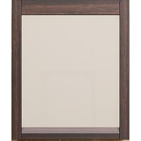 Зеркало с подсветкой Opadiris Лаварро 80 для ванной комнаты венге