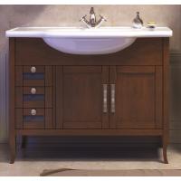 Тумба напольная с раковиной Opadiris Мираж 100 для ванной комнаты светлый орех