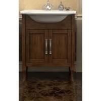 Тумба напольная с раковиной Opadiris Мираж 65 для ванной комнаты светлый орех