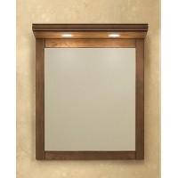 Зеркало с подсветкой Opadiris Мираж 65 для ванной комнаты светлый орех