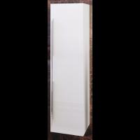 Шкаф-пенал Opadiris Октава подвесной для ванной комнаты белый глянцевый