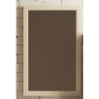 Зеркало Opadiris Омега 55 для ванной комнаты слоновая кость