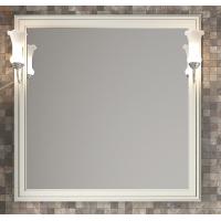 Зеркало с подсветкой Opadiris Санрайз 90 для ванной комнаты слоновая кость